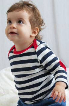 Baby Stripy Long Sleeve T  •  BabyBugz