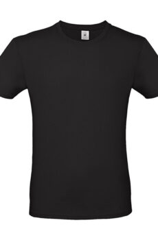 #E150 T-Shirt von der Marke B & C in Black