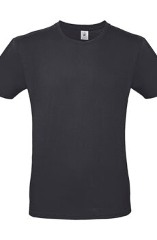 #E150 T-Shirt von der Marke B & C in Dark Grey