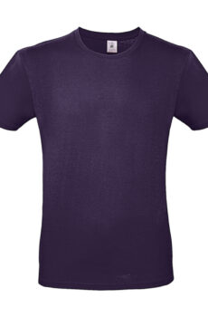 #E150 T-Shirt von der Marke B & C in Urban Purple