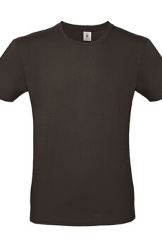 #E150 T-Shirt von der Marke B & C in Bear Brown