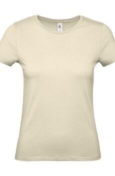 #E150 /women T-Shirt von der Marke B & C in Natural