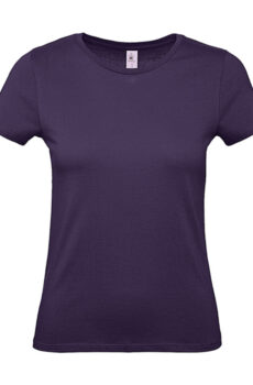 #E150 /women T-Shirt von der Marke B & C in Urban Purple