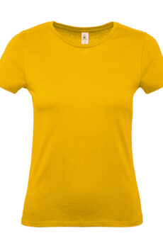 #E150 /women T-Shirt von der Marke B & C in Gold