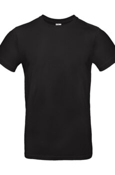 #E190 T-Shirt von der Marke B & C in Black
