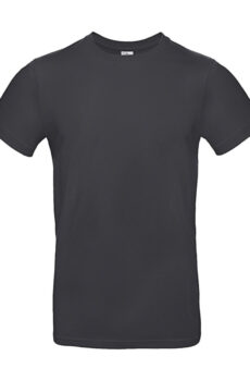 #E190 T-Shirt von der Marke B & C in Dark Grey