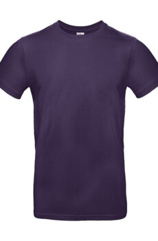 #E190 T-Shirt von der Marke B & C in Urban Purple