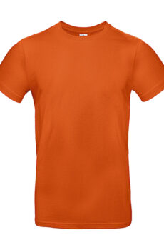 #E190 T-Shirt von der Marke B & C in Urban Orange