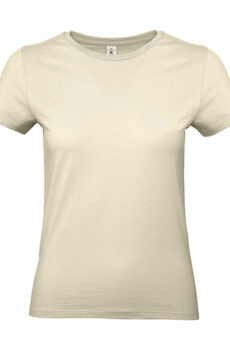 #E190 /women T-Shirt von der Marke B & C in Natural