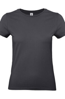 #E190 /women T-Shirt von der Marke B & C in Dark Grey