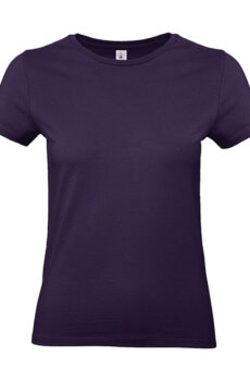 #E190 /women T-Shirt von der Marke B & C in Urban Purple