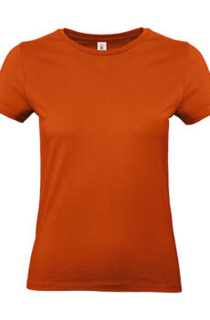 #E190 /women T-Shirt von der Marke B & C in Urban Orange