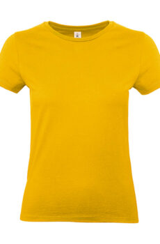 #E190 /women T-Shirt von der Marke B & C in Gold