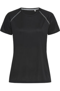 Active 140 Team Raglan Women von der Marke Stedman in Black Opal