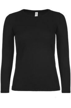 #E150 LSL /women von der Marke B & C in Black