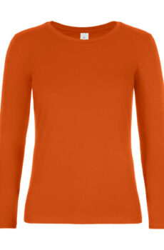 #E190 LSL /women von der Marke B & C in Urban Orange