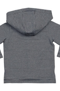 Baby Striped Hooded T  •  BabyBugz