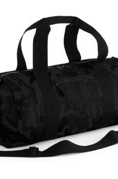 Camo Barrel Bag  •  Bag Base
