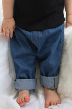Baby Rocks Denim Trousers  •  BabyBugz