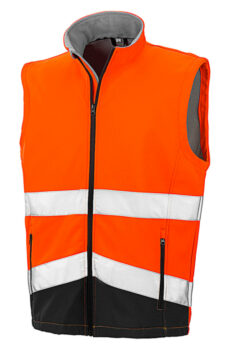Printable Safety Softshell Gilet  •  Result