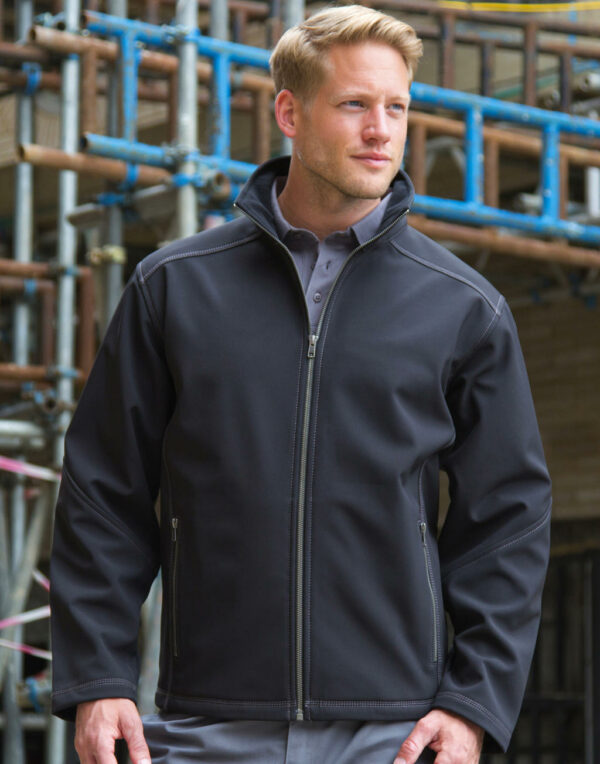 Herren Treble Stitch Softshell