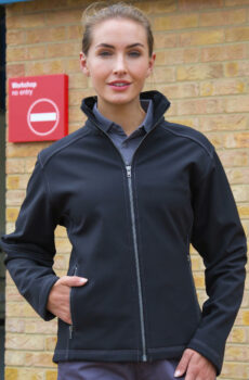 Damen Treble Stitch Softshell  •  Result