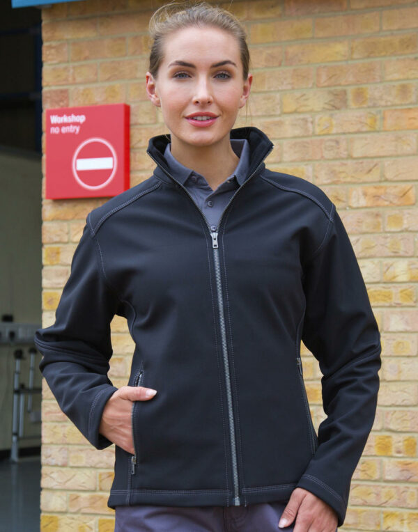 Damen Treble Stitch Softshell