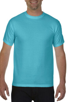 Adult Heavyweight Tee von der Marke Comfort Colors in Lagoon Blue
