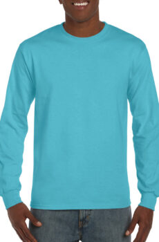 Hammer™ Adult Long Sleeve T-Shirt von der Marke Gildan in Lagoon Blue