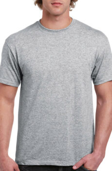Ultra Cotton Adult T-Shirt von der Marke Gildan in Sport Grey