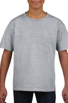 Softstyle® Youth T-Shirt von der Marke Gildan in Sport Grey