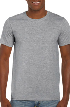 Softstyle® Ring Spun T-Shirt von der Marke Gildan in Sport Grey