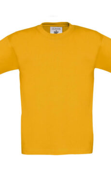 Exact 150/kids T-Shirt von der Marke B & C in Gold