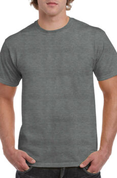 Heavy Cotton Adult T-Shirt von der Marke Gildan in Graphite Heather