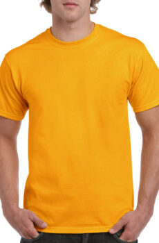 Heavy Cotton Adult T-Shirt von der Marke Gildan in Gold