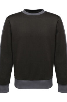 Contrast Polyester Sweat von der Marke Regatta in Black/Seal Grey