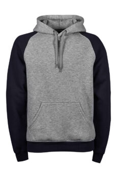 Two-Tone Hooded Pullover  •  Tee Jays