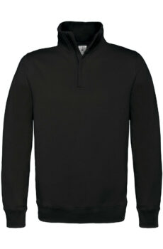 ID.004 Cotton Rich 1/4 Zip Pullover  •  B & C