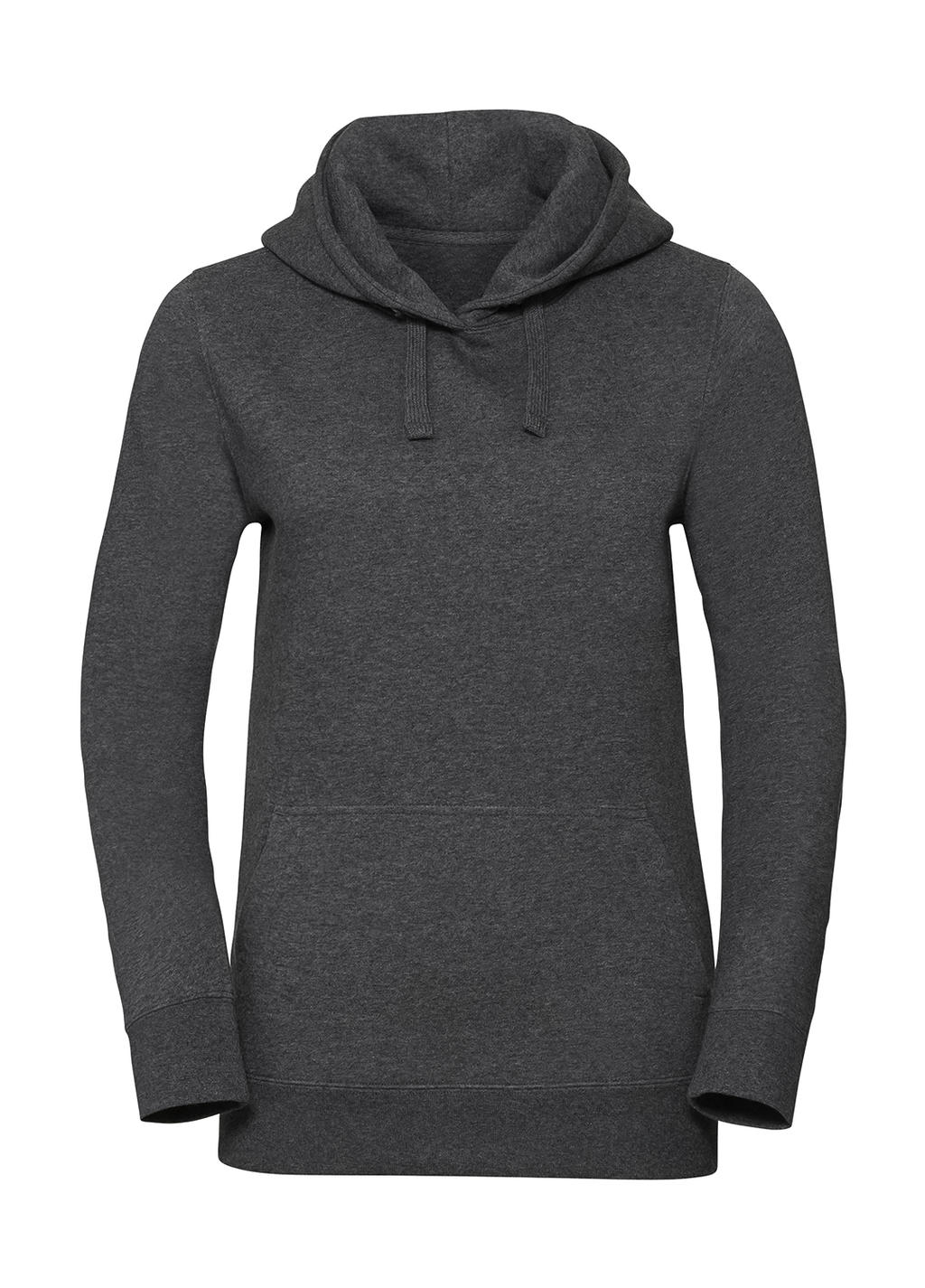size 40 b53fd 77f5c Damen` Authentic Melange Hooded Pullover • Russell Europe