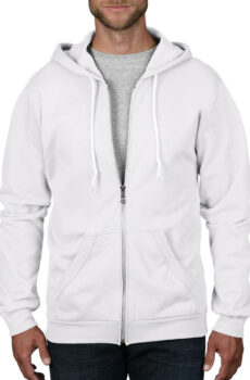 Erwachsenen Fashion Full-Zip Hooded Pullover  •  Anvil