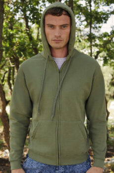 Classic Hooded Pullover Jacke