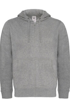 Hooded Full Zip/men Pullover  •  B & C