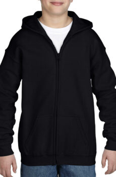 Heavy Blend Youth Full Zip Hooded Pullover  •  Gildan