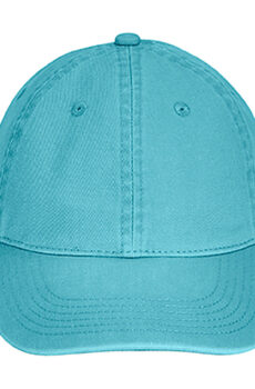 Direct Dyed Baseball Cap von der Marke Comfort Colors in Lagoon Blue