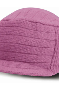 Esco Urban Knitted Hat von der Marke Result Caps in Pink