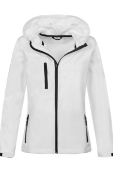 Damen Active Softest Shell Hooded Jacke  •  Stedman