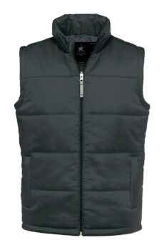 Bodywarmer/men von der Marke B & C in Dark Grey