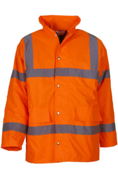 Fluo Classic Motorway Jacket von der Marke Yoko in Fluo Orange