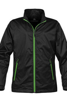 Ladies` Axis Shell von der Marke StormTech in Black/Lime