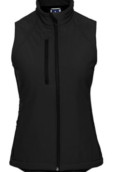 Damen` Softshell Gilet  •  Russell Europe
